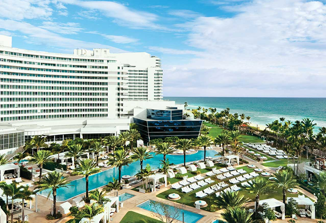 The Fontainebleau Hotel Miami Beach - Image Credit: The Fontainebleau Official Website